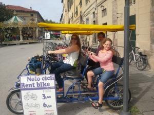Bike in Lucca