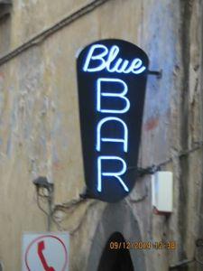 Blue Bar, where we hang.
