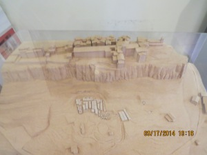 A model of Orvieto and the Nicropolis