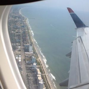 Myrtle Beach from the sky