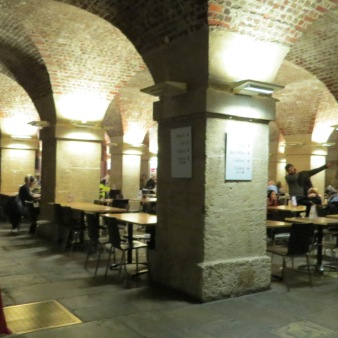The Crypt at St. Martins-in-the-fields