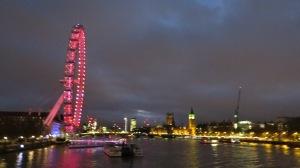 London Eye & Parliment
