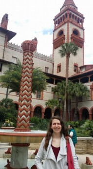 Me at Flagler four years ago!